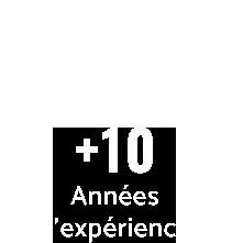 Peaks + de 10 ans d'expérience