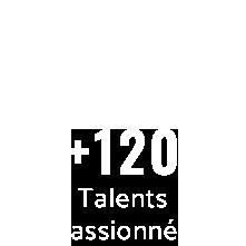 Peaks + de 120 collaborateurs passionnés